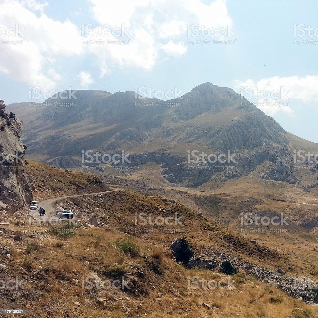 Mountain with beautiful landscape royalty-free stock photo
