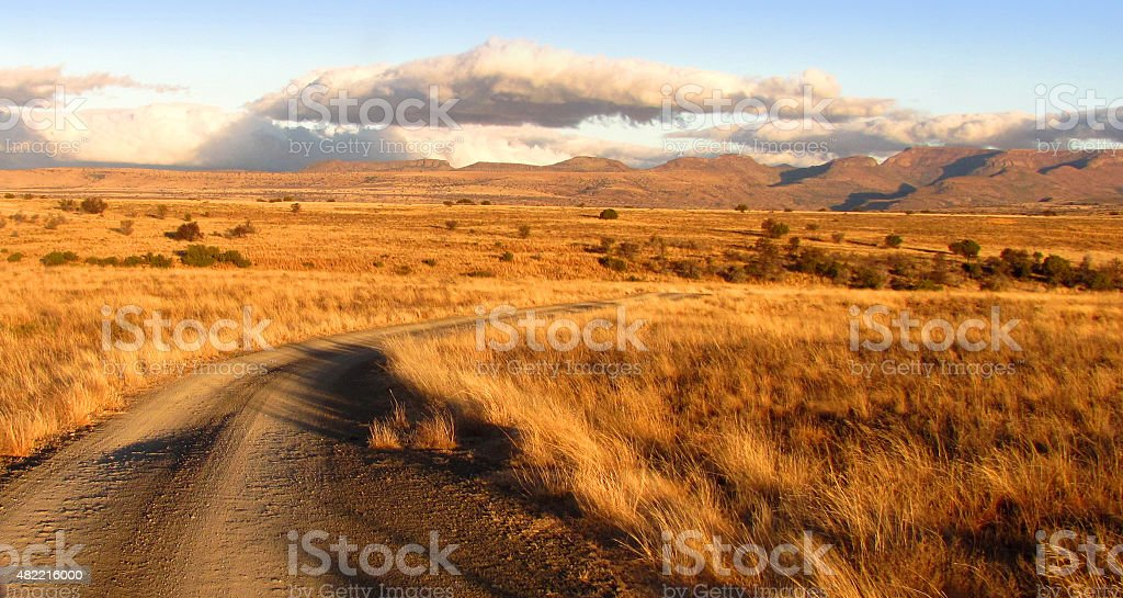 Mountain Zebra National Park, South Africa stock photo