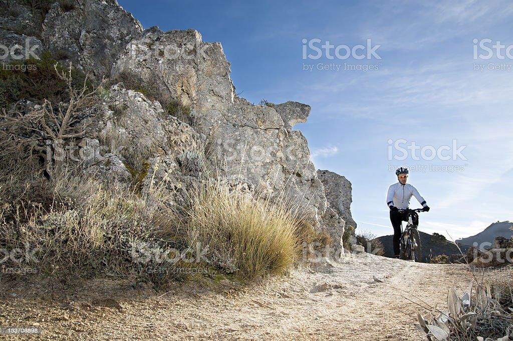 Mountainbike royalty-free stock photo