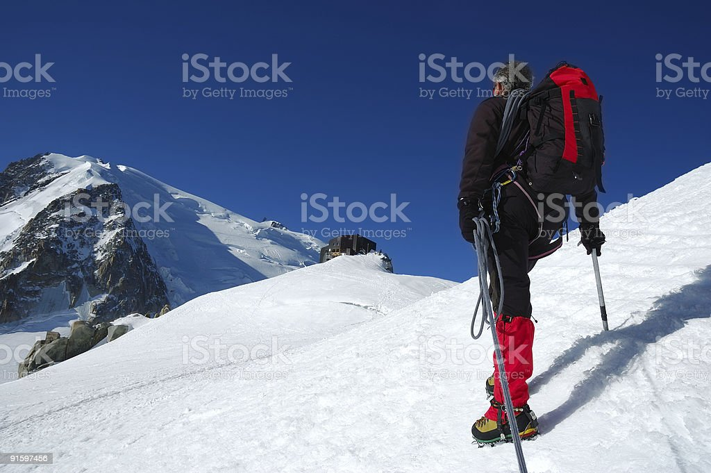 Mountaineer royalty-free stock photo