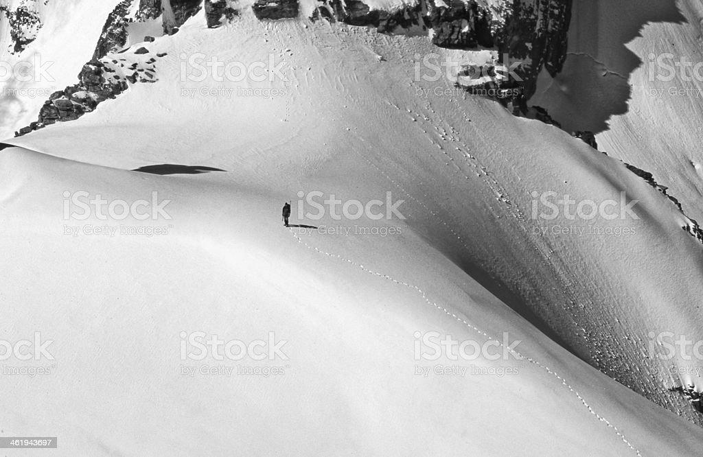 Alpinismo stock photo