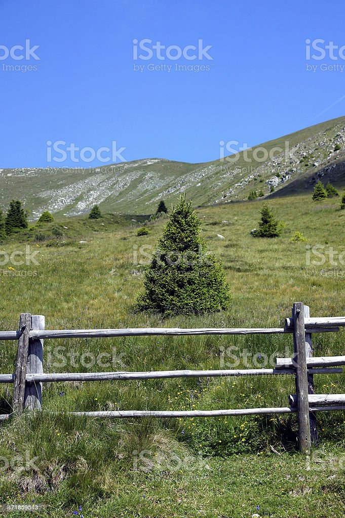 Mountain-Landscapes royalty-free stock photo