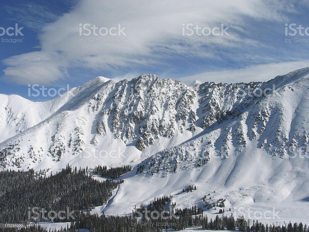 Mountains 2 royalty-free stock photo