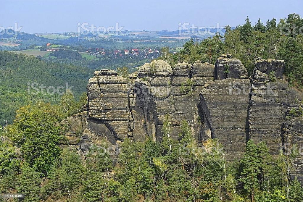 mountains Affensteine stock photo