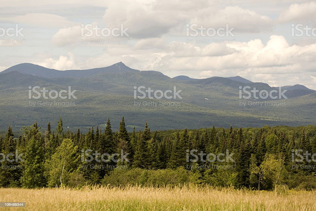 Mountains and Fields royalty-free stock photo