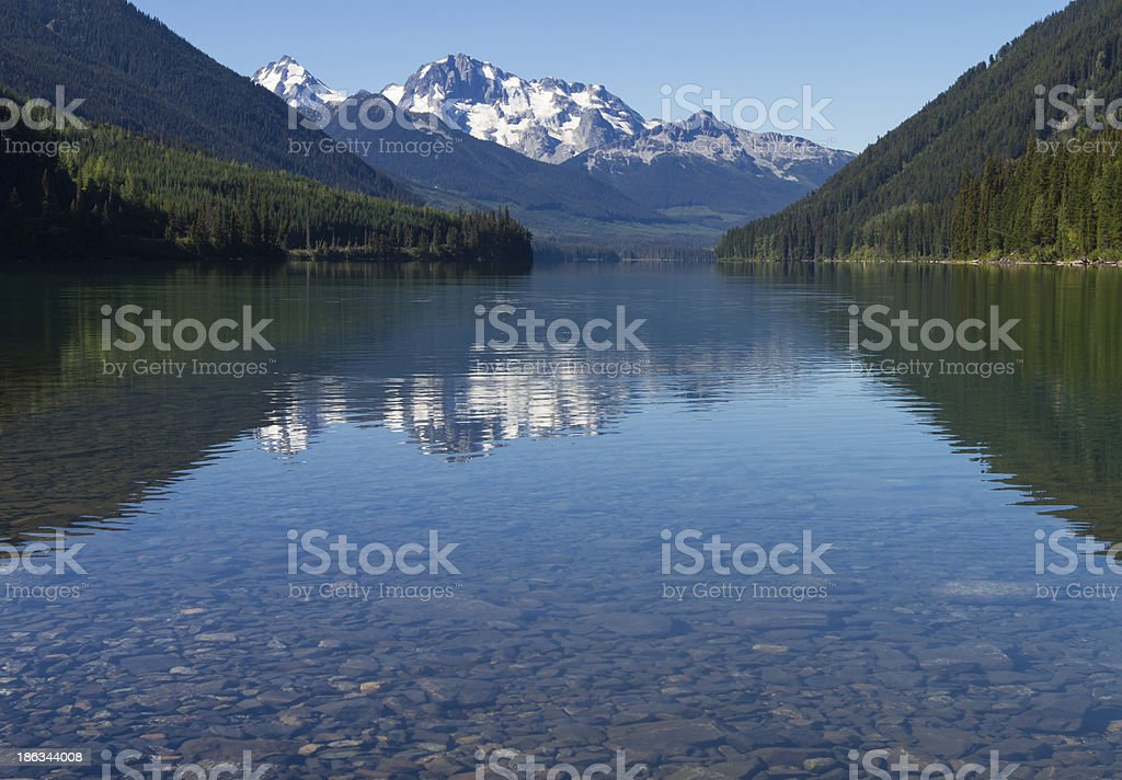 Mountains and Lake royalty-free stock photo