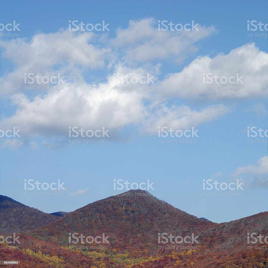 Mountains and Sky royalty-free stock photo