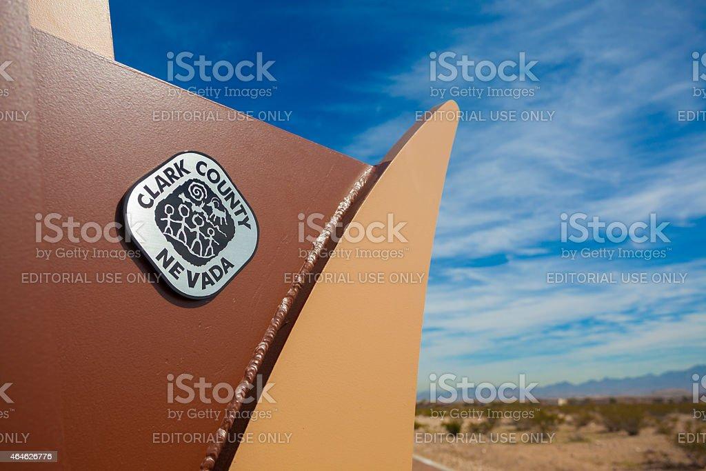 Mountains Edge Park - Las Vegas stock photo
