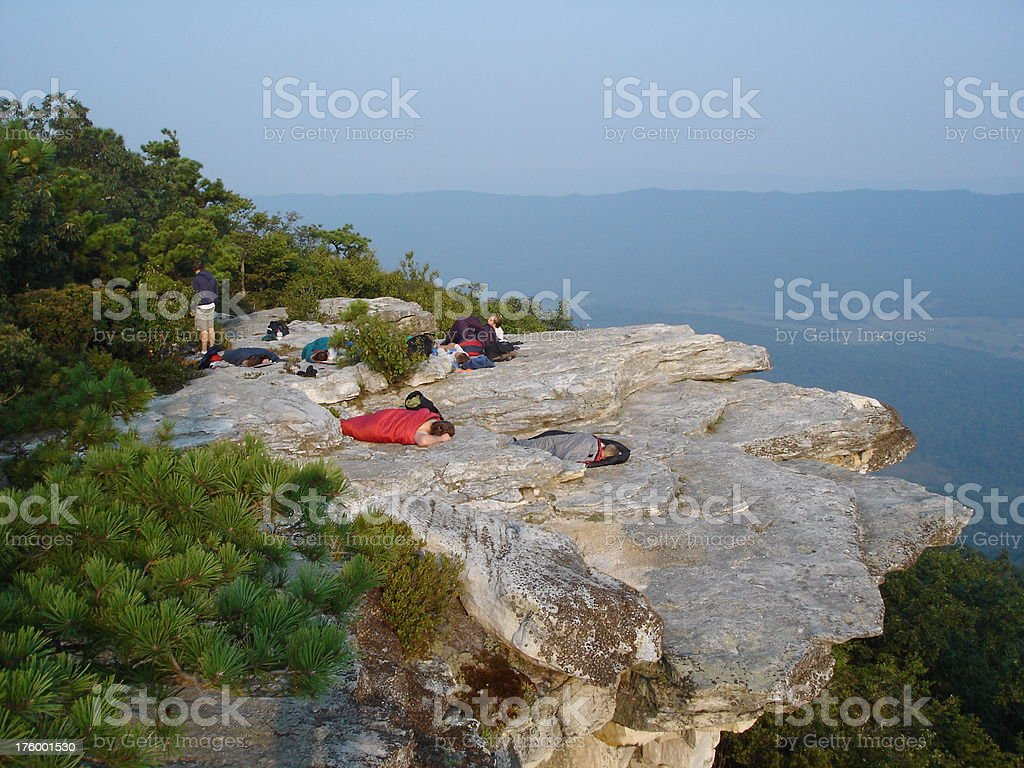 Mountain's Edge stock photo