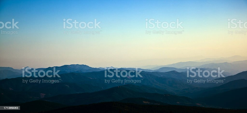 Mountains Forever stock photo