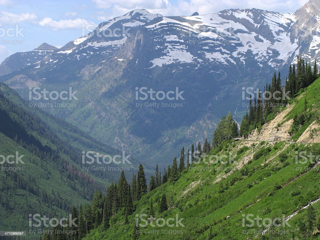 Mountains Glacier North Cascades National Park royalty-free stock photo