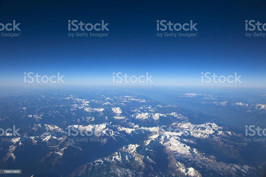 Mountains High Altitude royalty-free stock photo