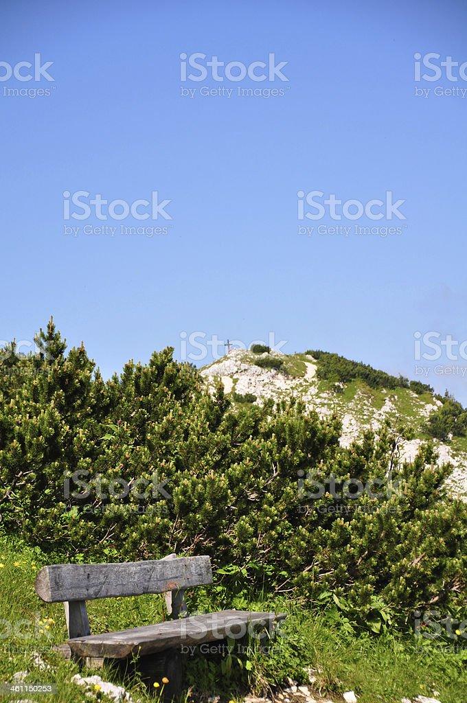 Mountains in Austria royalty-free stock photo