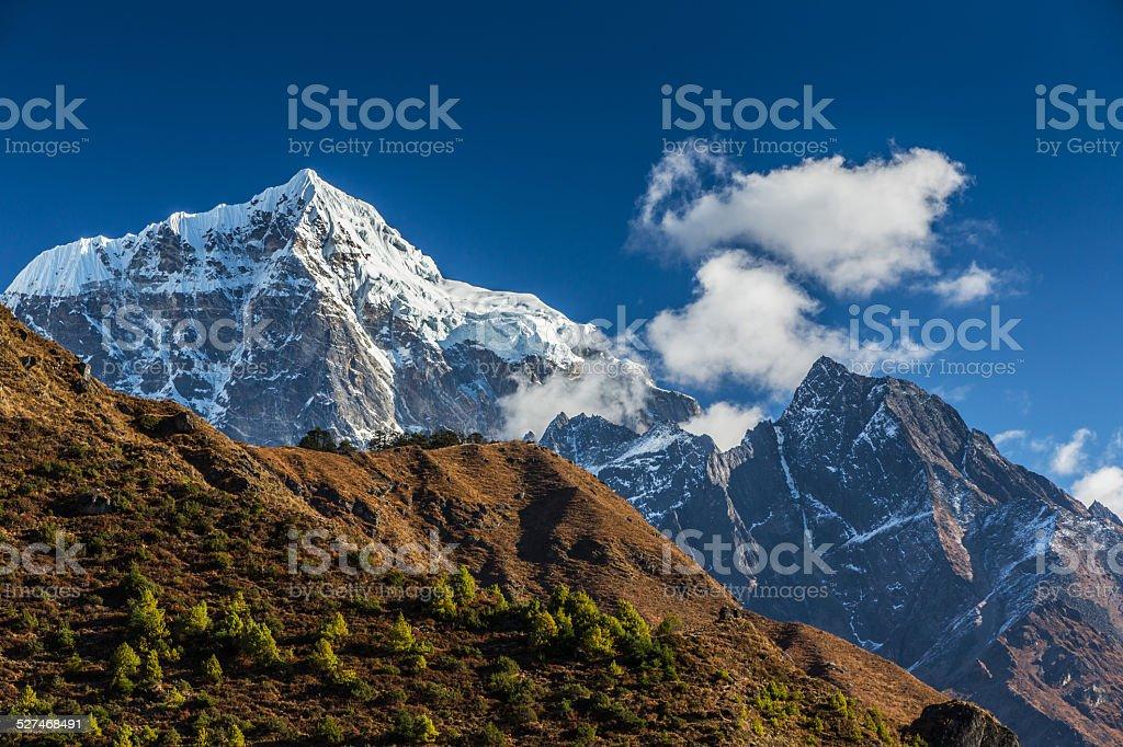 Mountains in Himalaya stock photo