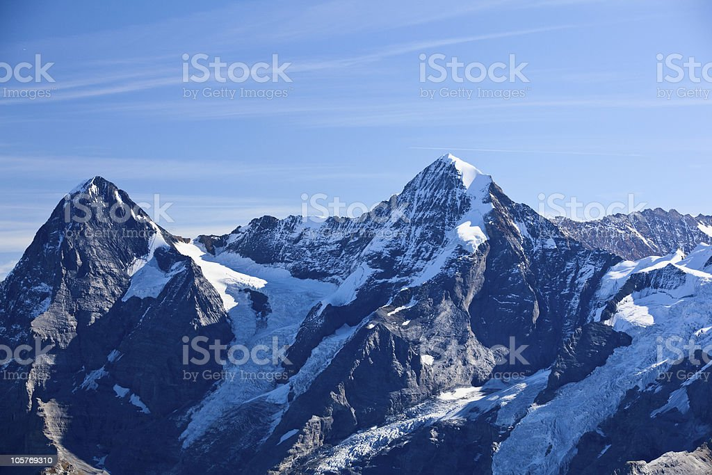 Mountains in Interlaken royalty-free stock photo