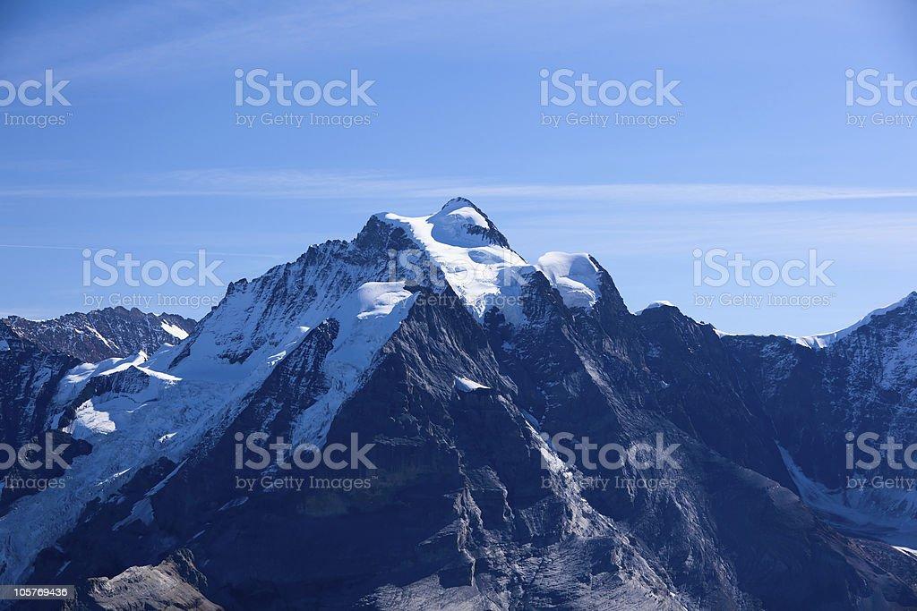 Mountains in Interlaken royalty-free stock photo