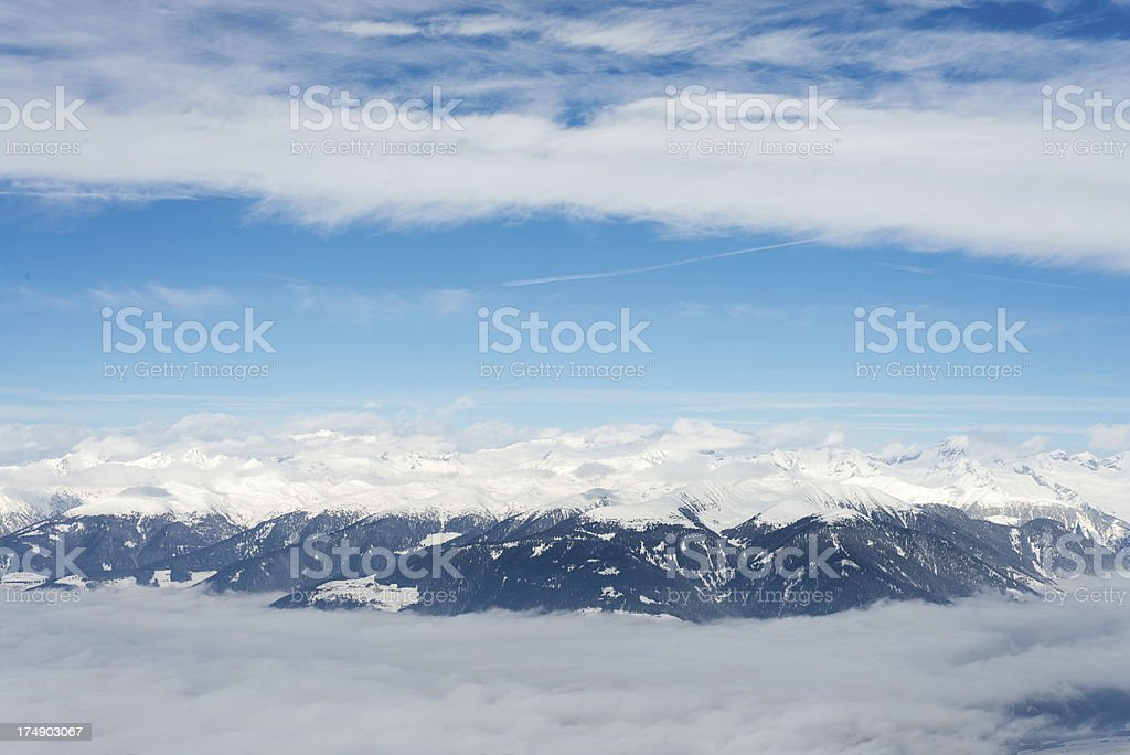Mountains in Italy royalty-free stock photo