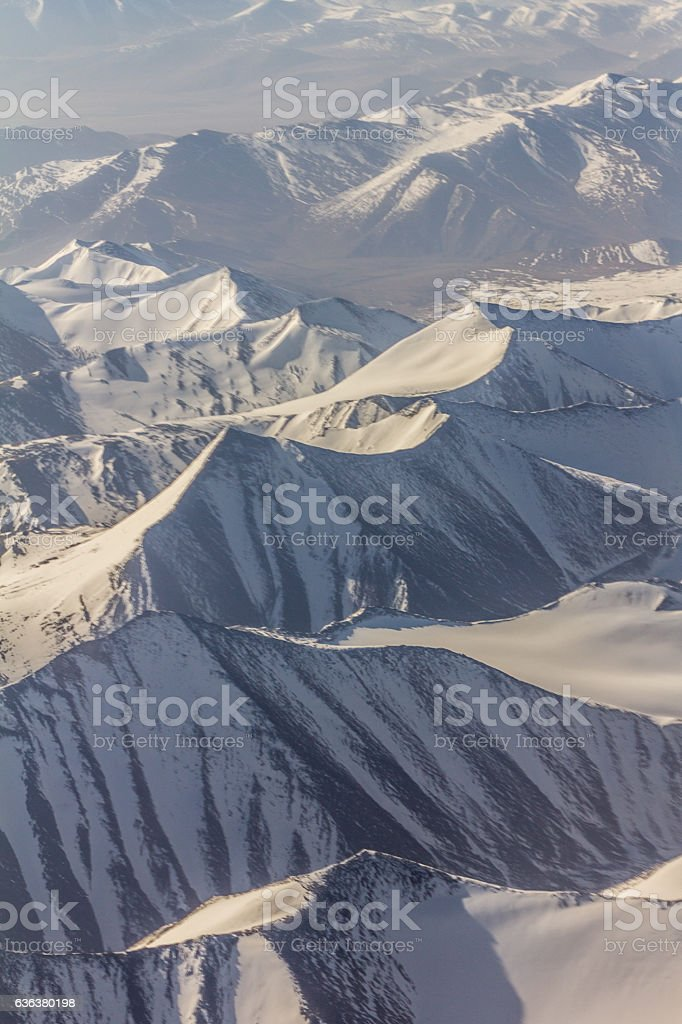 Mountains in Kashmir stock photo