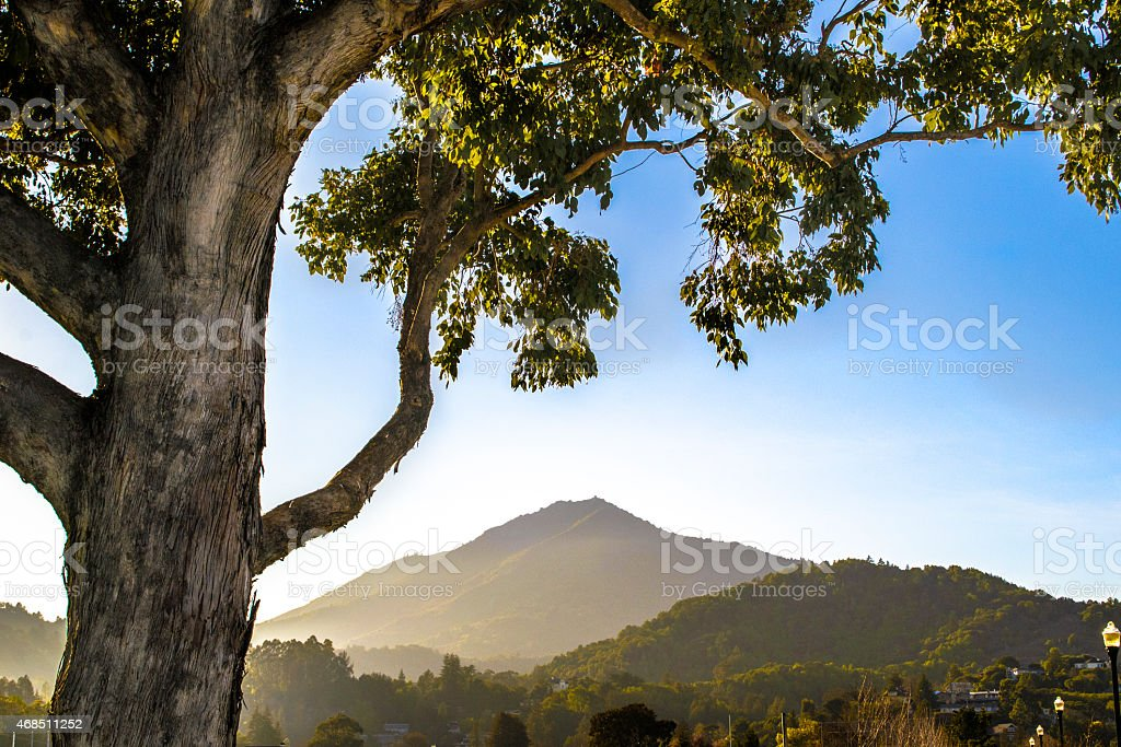 Mountains in Northern California stock photo