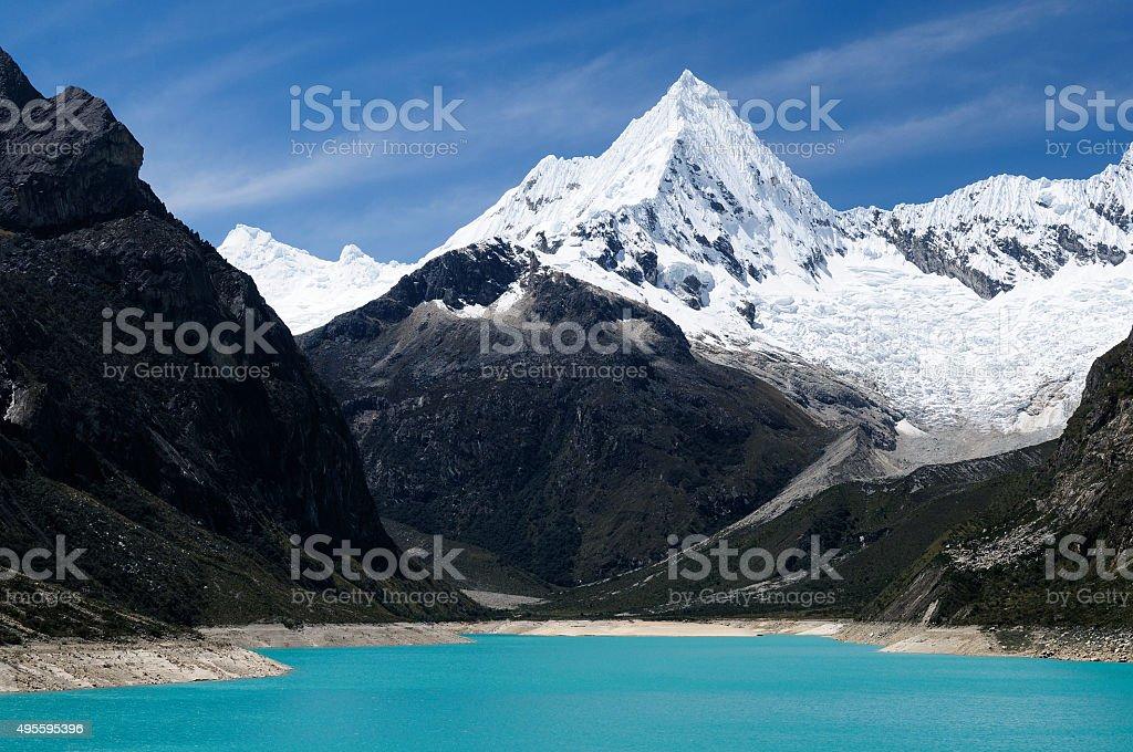 Mountains in Peru stock photo