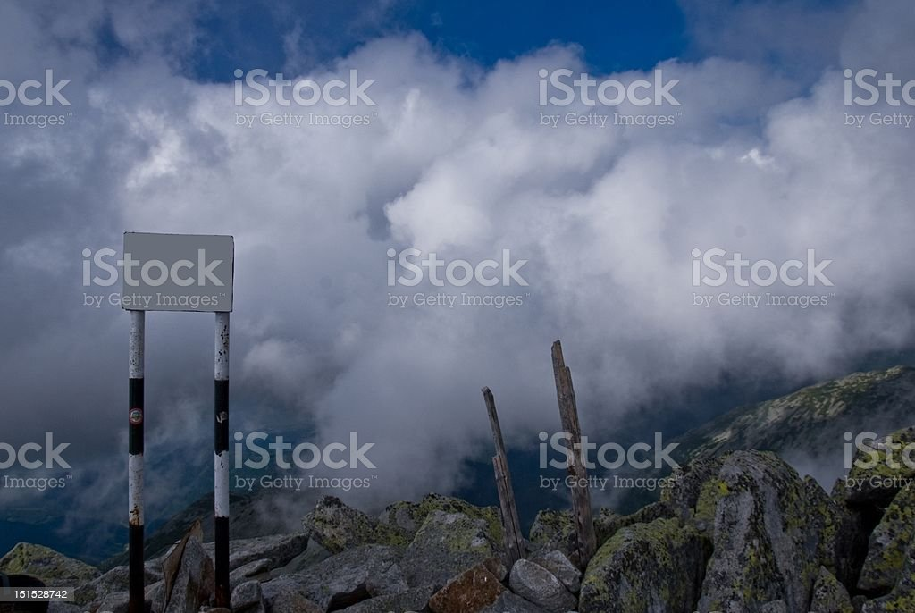 Mountains in Retezat royalty-free stock photo