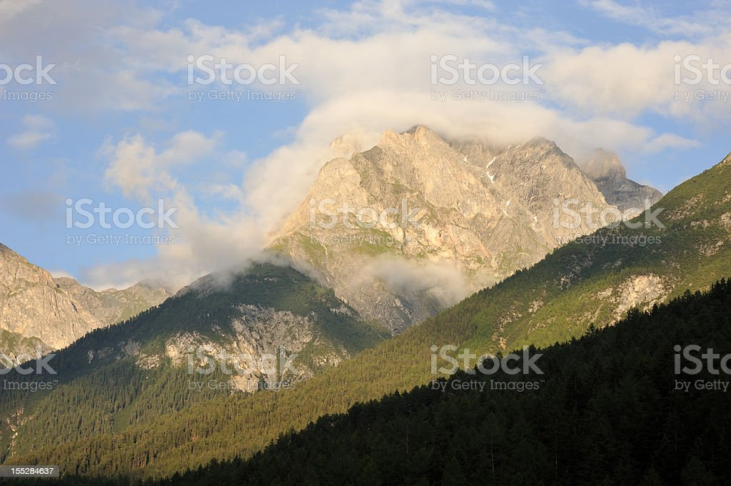 Mountains in Switzerland royalty-free stock photo