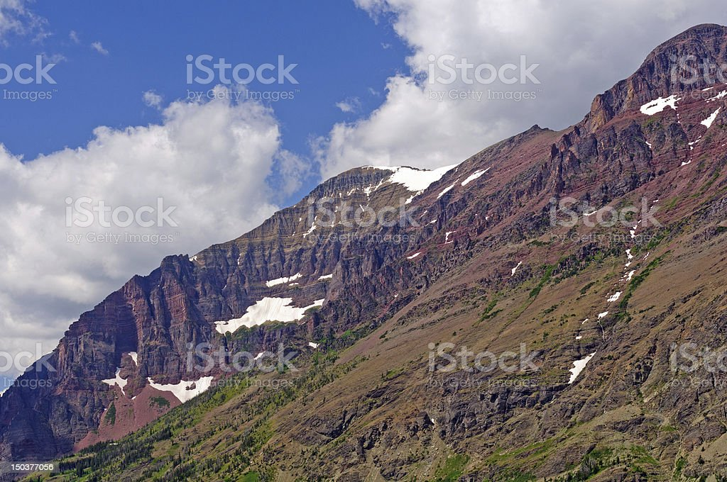 Mountains in the American West royalty-free stock photo