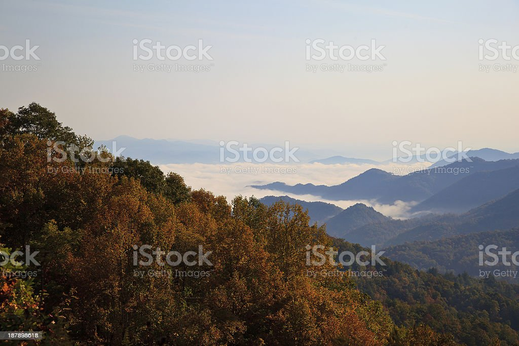 Mountains in the Fall royalty-free stock photo