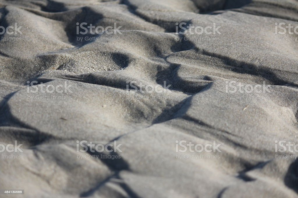 Mountains in the Sand stock photo