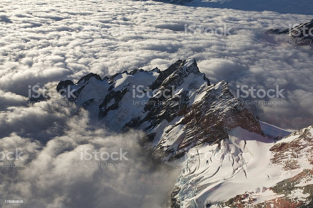 Mountains in the Sky royalty-free stock photo