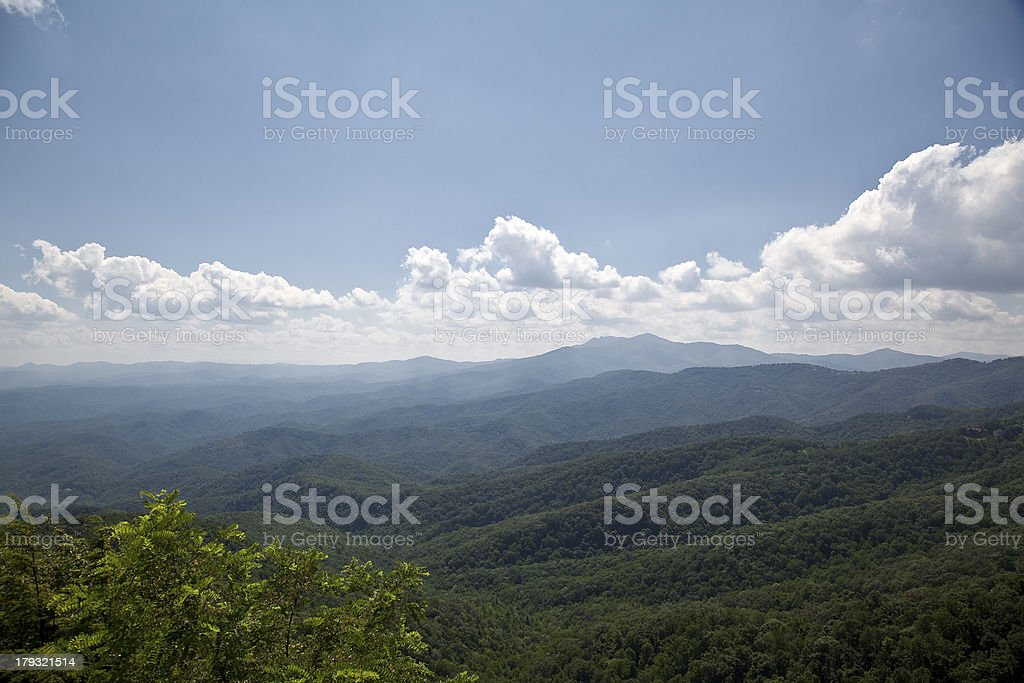 Mountains in the Summertime royalty-free stock photo