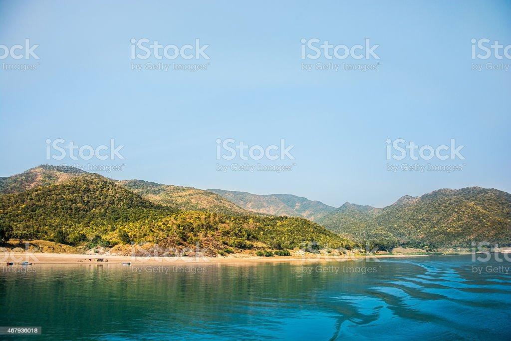 Mountains India stock photo