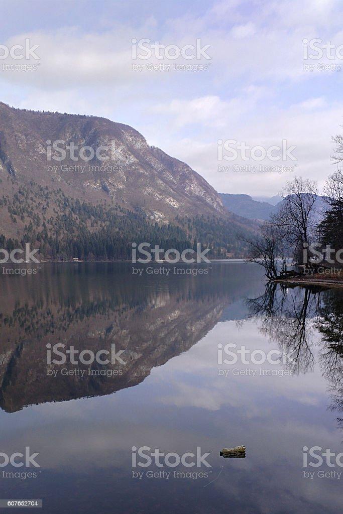 Mountains & Lakes stock photo