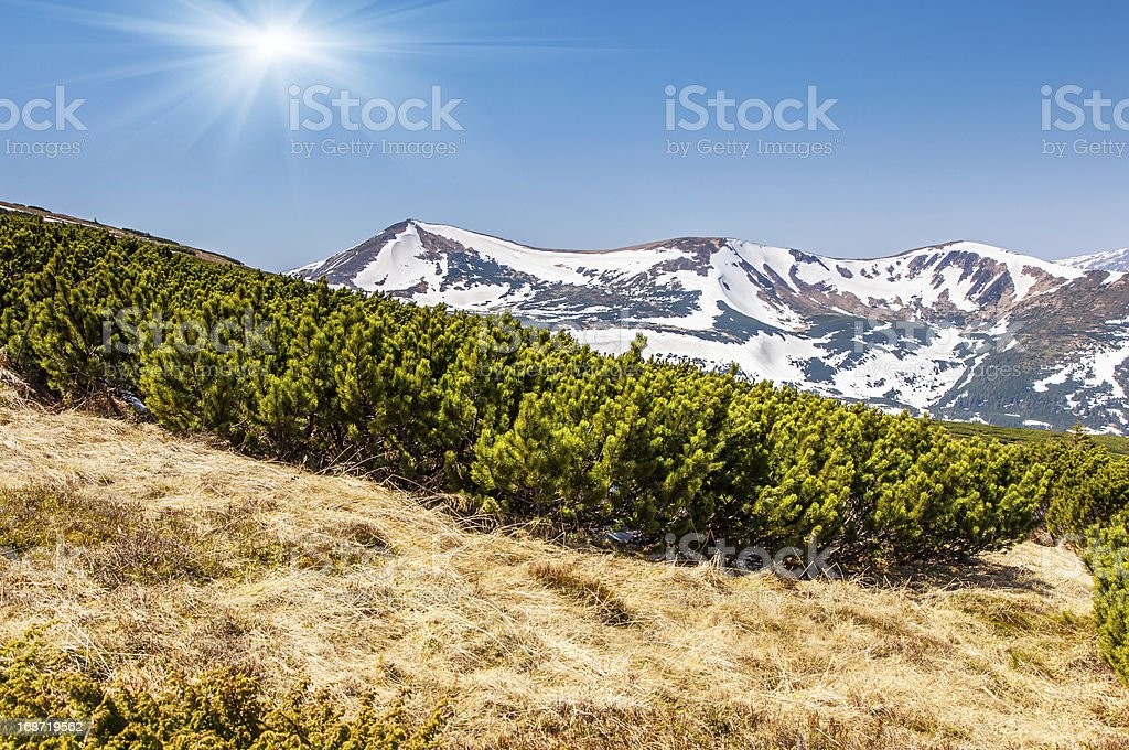 mountains landscape royalty-free stock photo