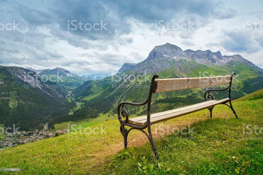 Mountains landscape royalty-free stock photo