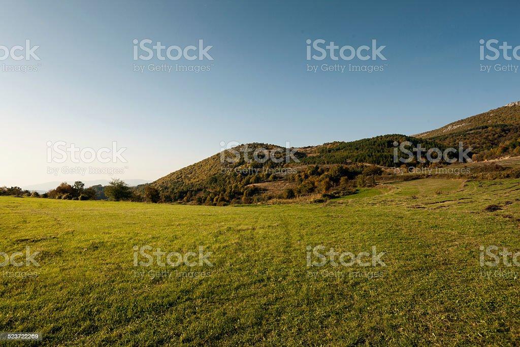 Paisaje de las montañas foto de stock libre de derechos