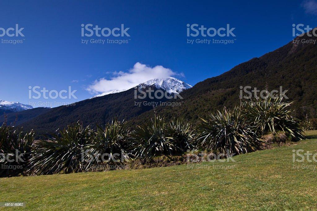 Mountains, New Zealand stock photo