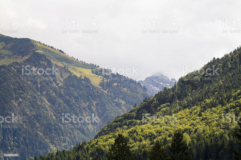 Mountains of Allg?u royalty-free stock photo