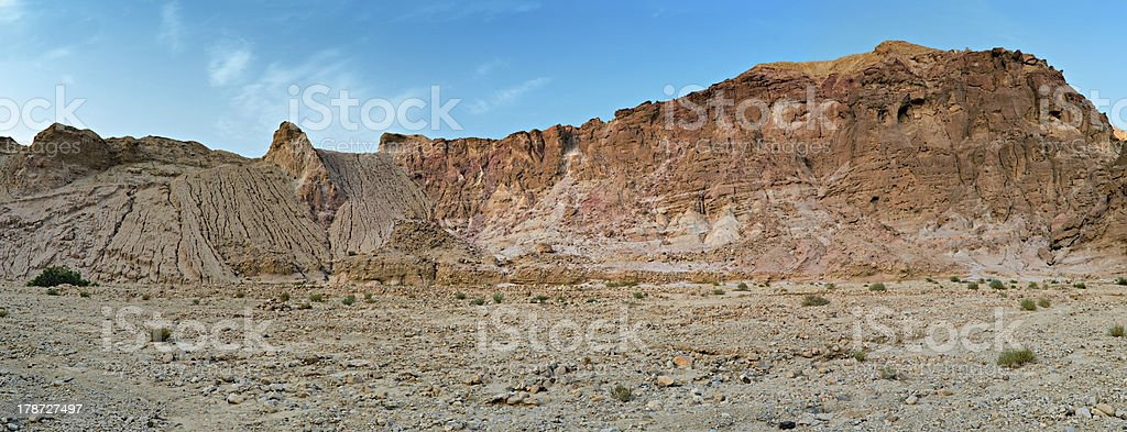 Mountains of Eilat, Israel royalty-free stock photo