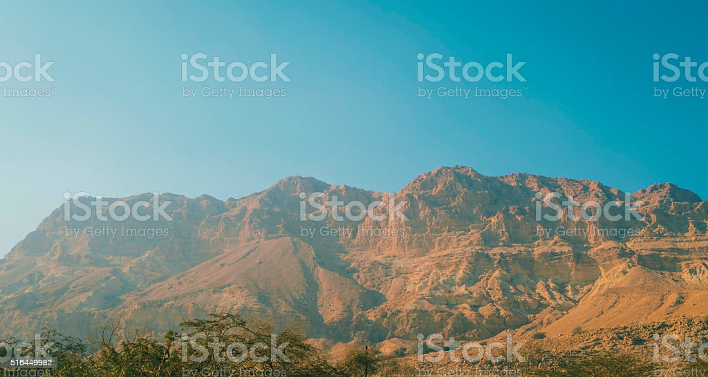 Mountains of Ein Gedi stock photo