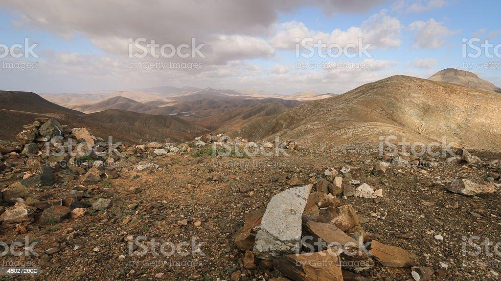 Mountains of Fuerteventura royalty-free stock photo