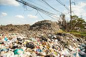 mountains of garbage