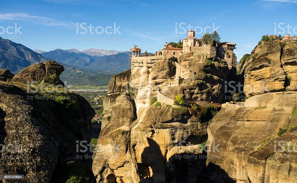 Mountains of Greece stock photo