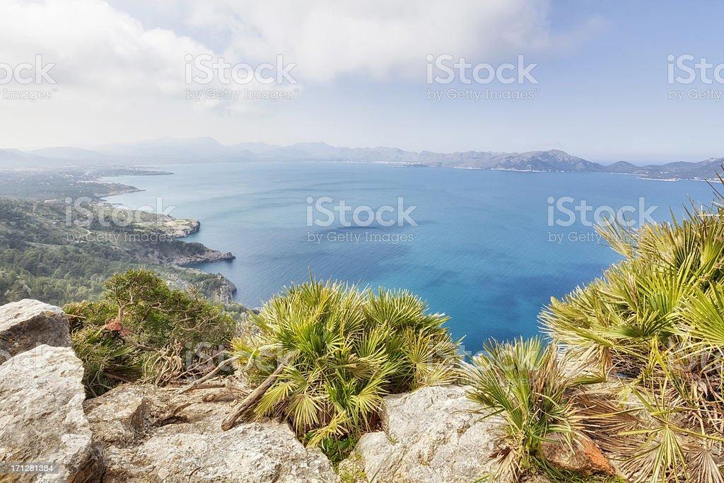 Mountains of Majorca stock photo