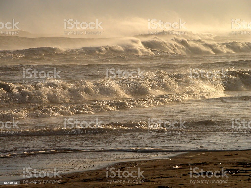 Mountains of waves.... royalty-free stock photo