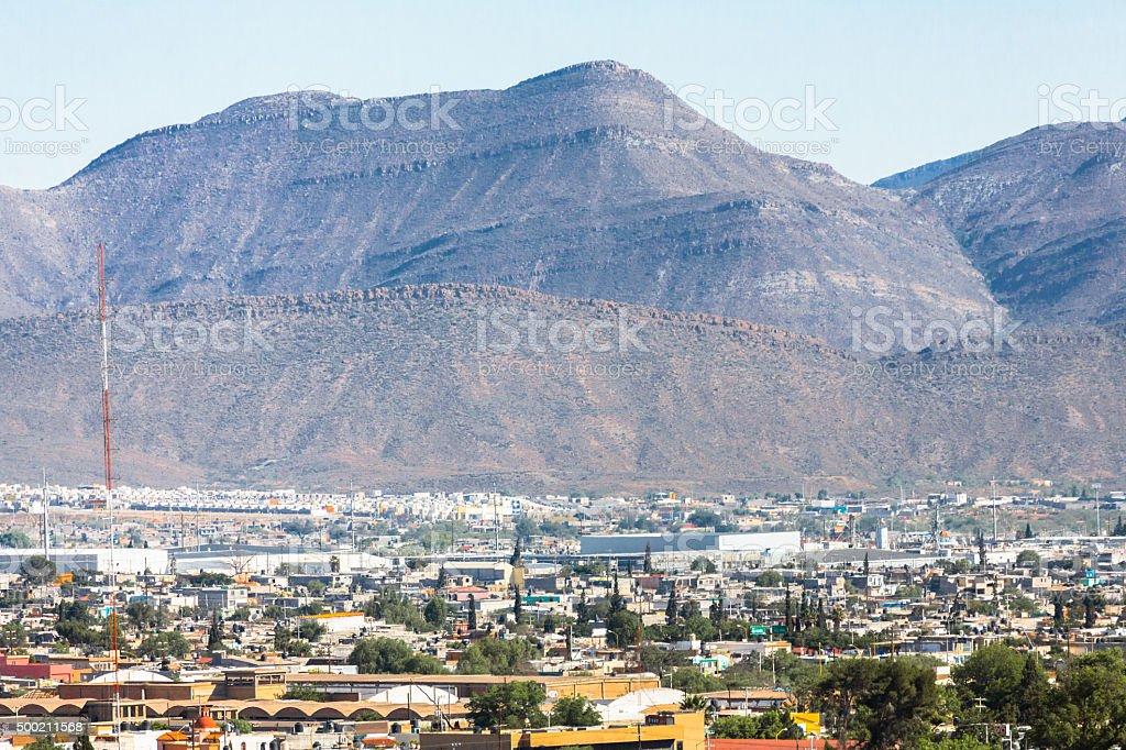 Mountains Over Saltillo stock photo