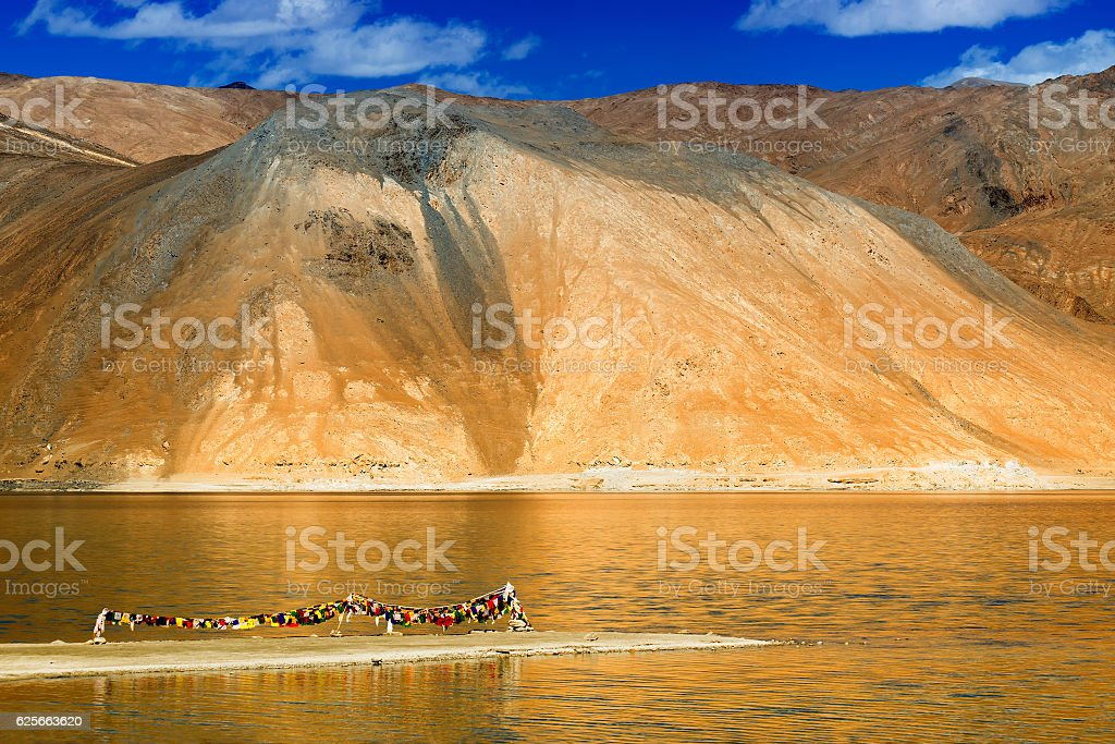 Mountains , Pangong tso (Lake),Leh,Ladakh,Jammu and Kashmir,India stock photo
