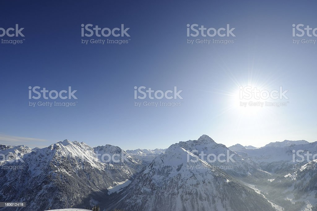 Mountains stock photo
