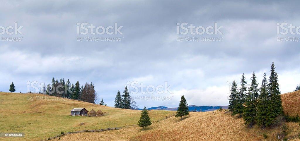 Mountains. stock photo
