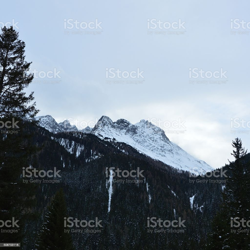 Mountains royalty-free stock photo